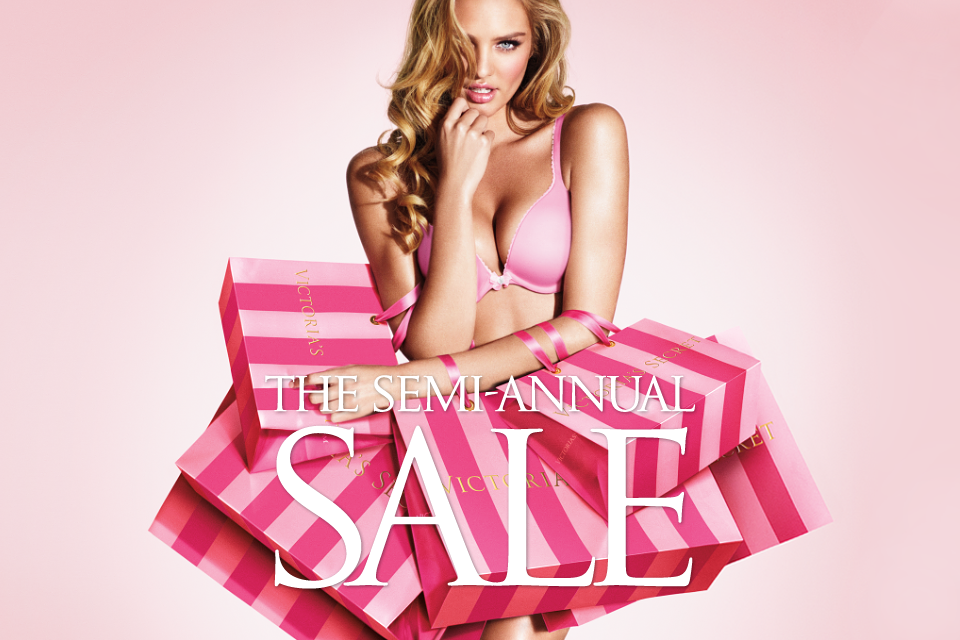 The Victoria's Secret Semi-Annual Sale has officially dropped, and unlike the olden days of pushing your way through a mob of females in need of $ panties at your local mall, you can save on.