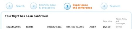 Toronto to Belize $435 roundtrip after taxes