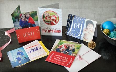 WagJag $20 for 40 Custom 5x7 Holiday Cards with Envelopes from Picaboo