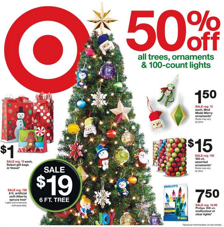 Target Christmas Trees Sale